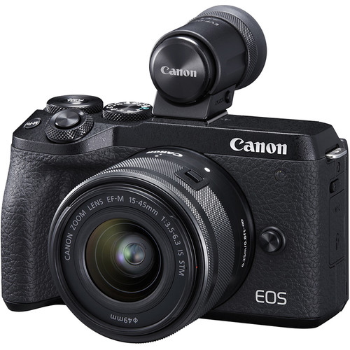 KIT CANON EOS M6 II + EFM 15-45 IS STM + EVF