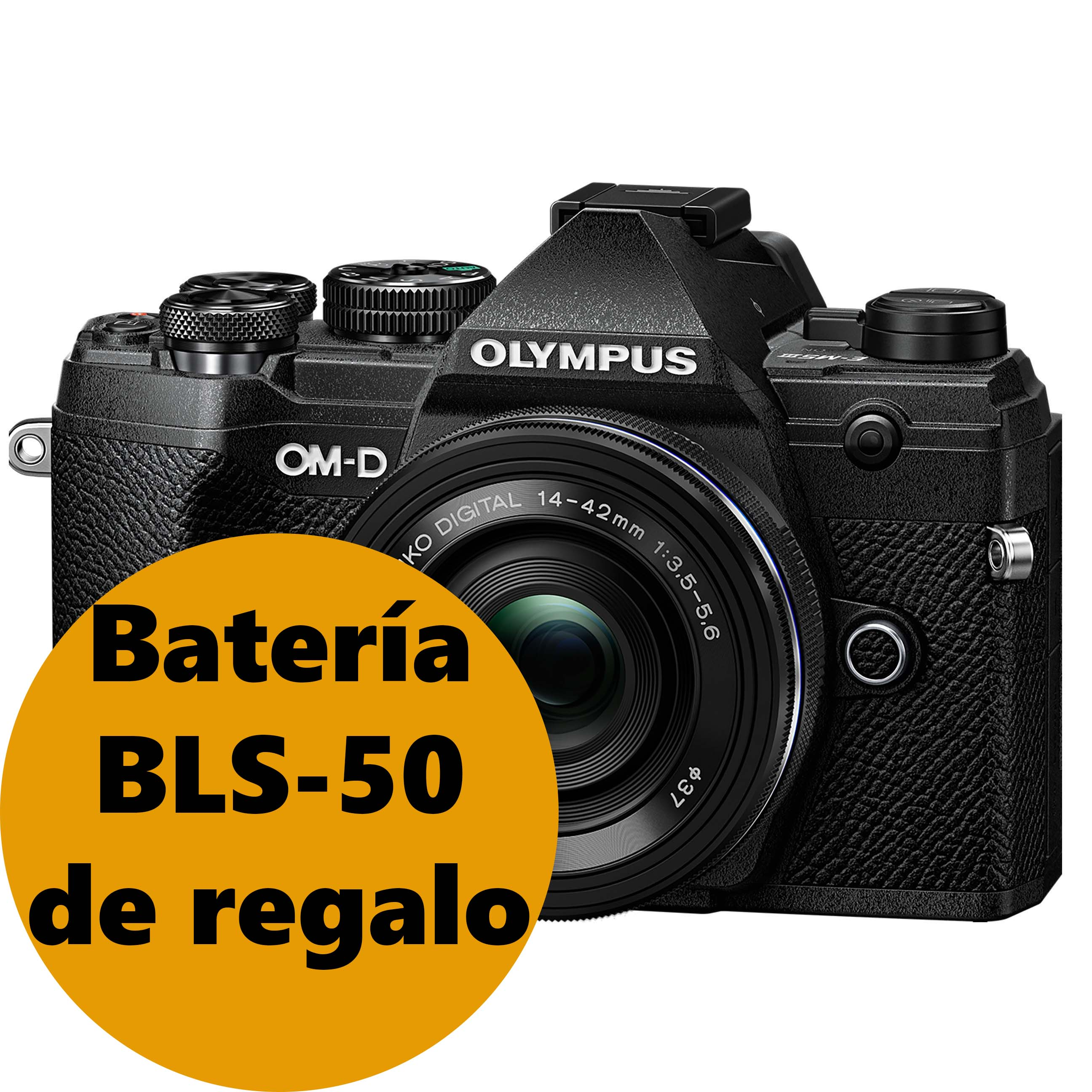 KIT OLYMPUS OM-D E-M5 MARK III + 14-42 EZ BLACK/BLACK