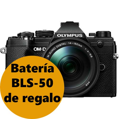 KIT OLYMPUS OM-D E-M5 MARK III BLACK + 14-150 BLACK