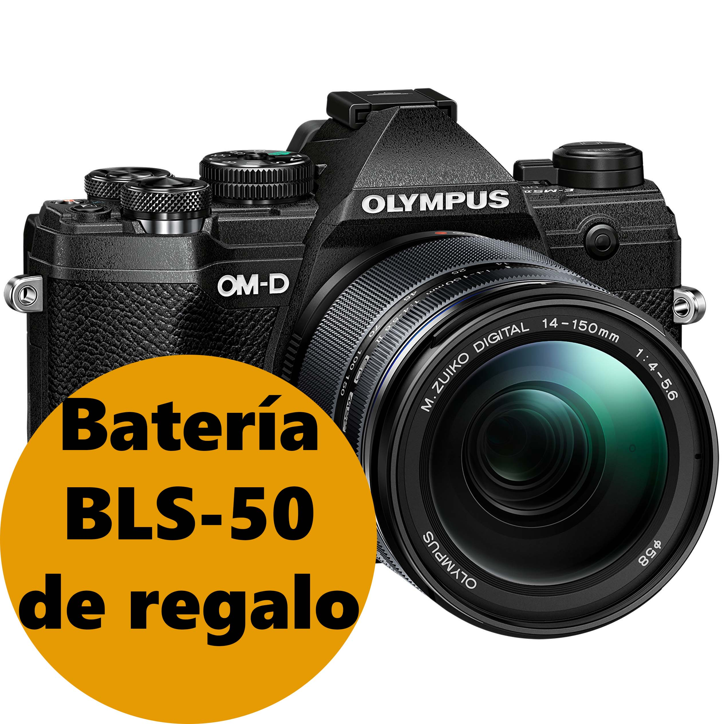 KIT OLYMPUS OM-D E-M5 MARK III BLACK + 12-200 IS PRO BLACK