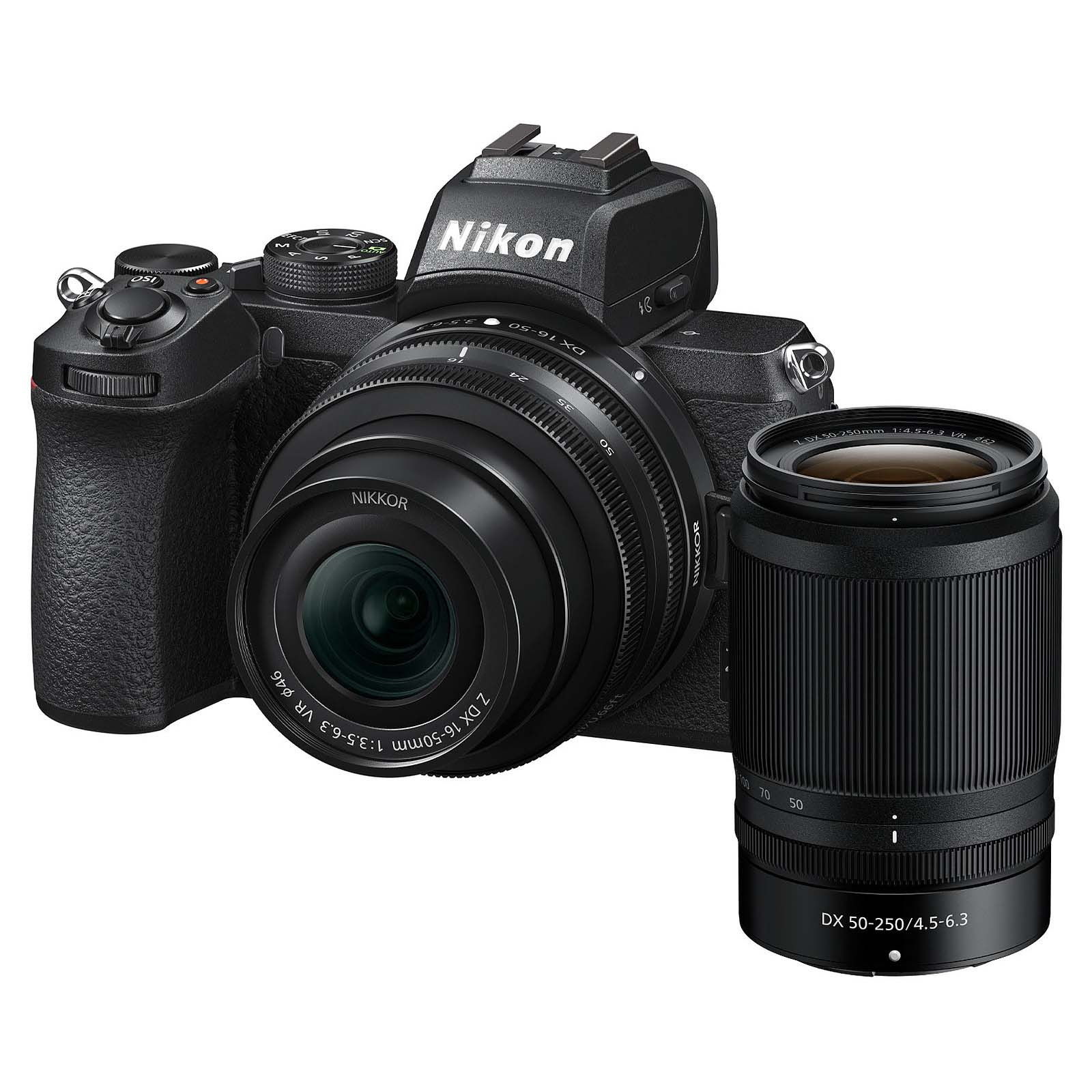 KIT NIKON Z50 + 16-50VR + 50-250VR + TRIPODE + SD 64GB 1000X