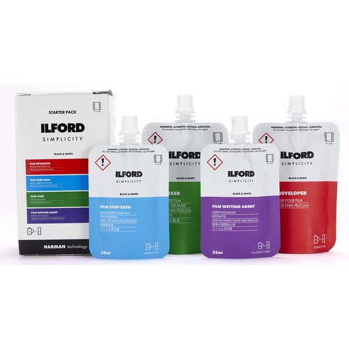 ILFORD SIMPLICITY KIT (4 SOBRES) STARTER PACK