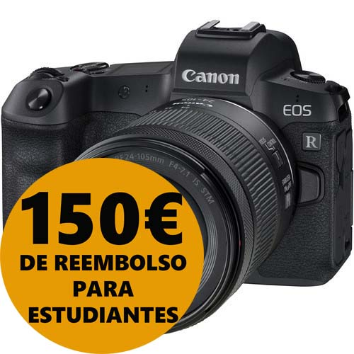 KIT CANON EOS R + RF 24-105/4-7.1 IS STM