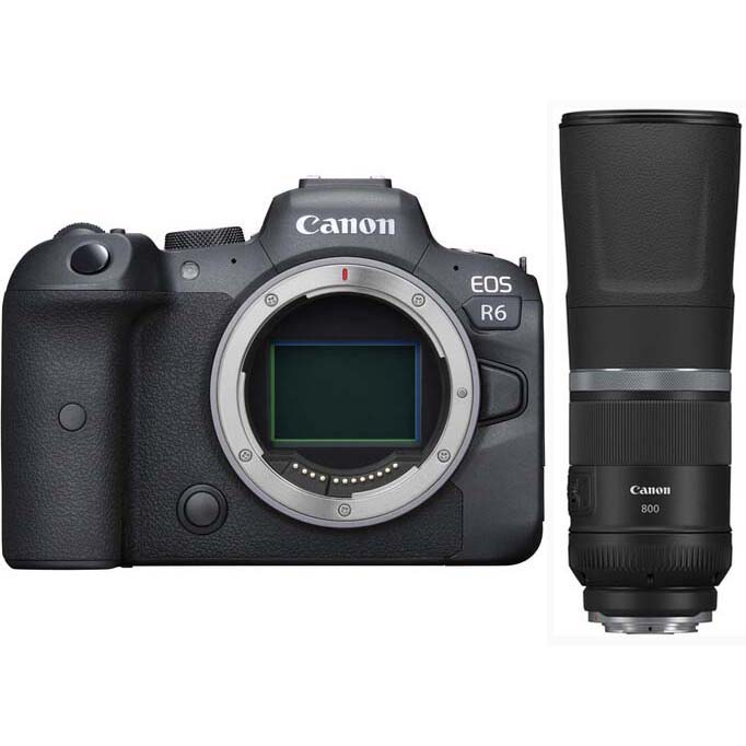 KIT CANON EOS R6 + RF 800/11 IS STM