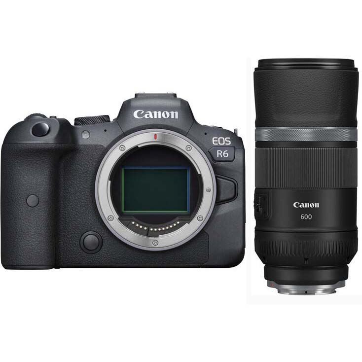 KIT CANON EOS R6 + RF 600/11 IS STM