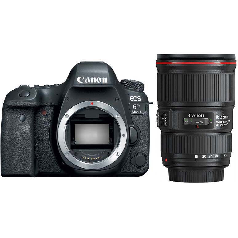 KIT CANON EOS 6D MARK II + EF 16-35/4 L IS USM
